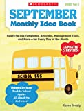 img - for September Monthly Idea Book: Ready-to-Use Templates, Activities, Management Tools, and More - for Every Day of the Month book / textbook / text book