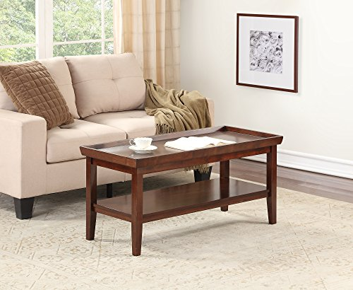 Convenience Concepts 501082ES Coffee Table, Espresso