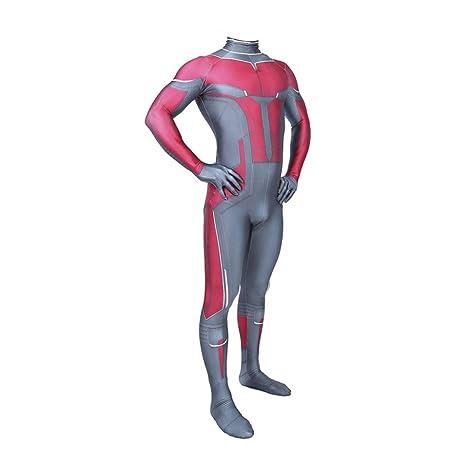 KYOKIM NiñO Adulto Ant-Man Ropa Cosplay Vestido Superhéroe ...