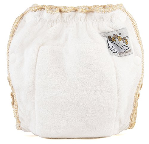 (Mother-ease Sandy's Cloth Diaper (Newborn (6-12 lbs), Bamboo Terry))
