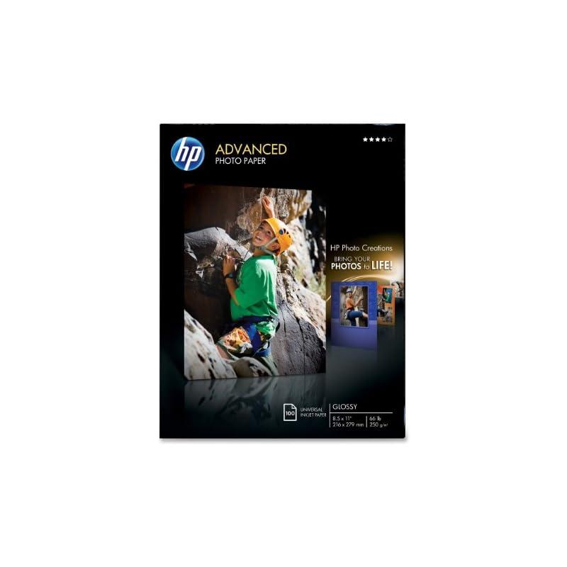 HP Advanced Photo Paper, Glossy (100 She
