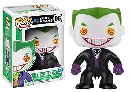 Amazon.com: Funko POP DC Super Heroes traje negro joker # 06 ...