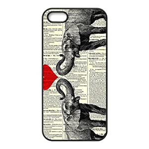 Elephant Hard TPU Back Cover Case for Iphone 5,5s
