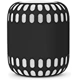 LIKDAY HomePod Silicone Cover for Apple Smart Speaker (Black)