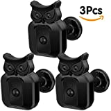 Blink XT Camera Wall Mount Bracket, 360 Degree Protective Adjustable Weather-proof Indoor Outdoor Owl Mount and Cover for Blink XT Outdoor Camera Security System (3 Pack)