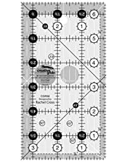 Creative Grids Quilt Ruler 3-1/2in x 6-1/2in - CGR36