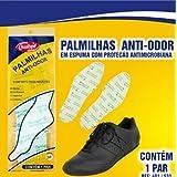 Palmilha de Espuma - Anti Odor Bactericida - Latex de EVA - Tam 42
