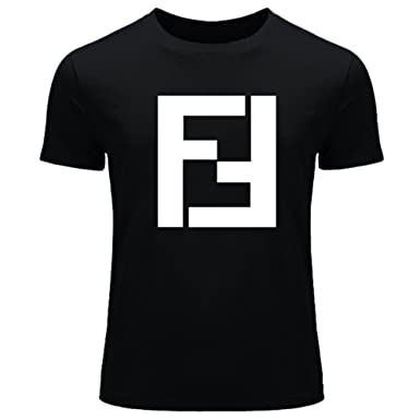 01c69ea20 Image Unavailable. Image not available for. Color: Fendi For Mens Printed  Short Sleeve tops t shirts