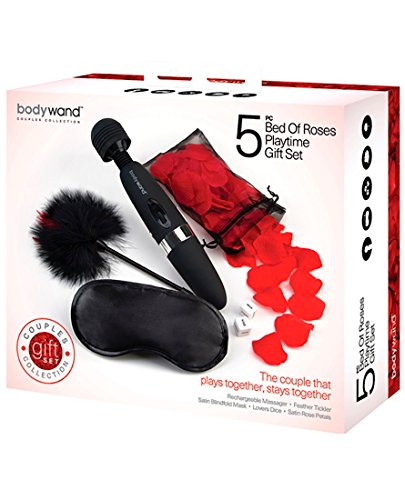 Bodywand 5pc Bed of Roses Playtime Gift Set by Sex Toys Online Store