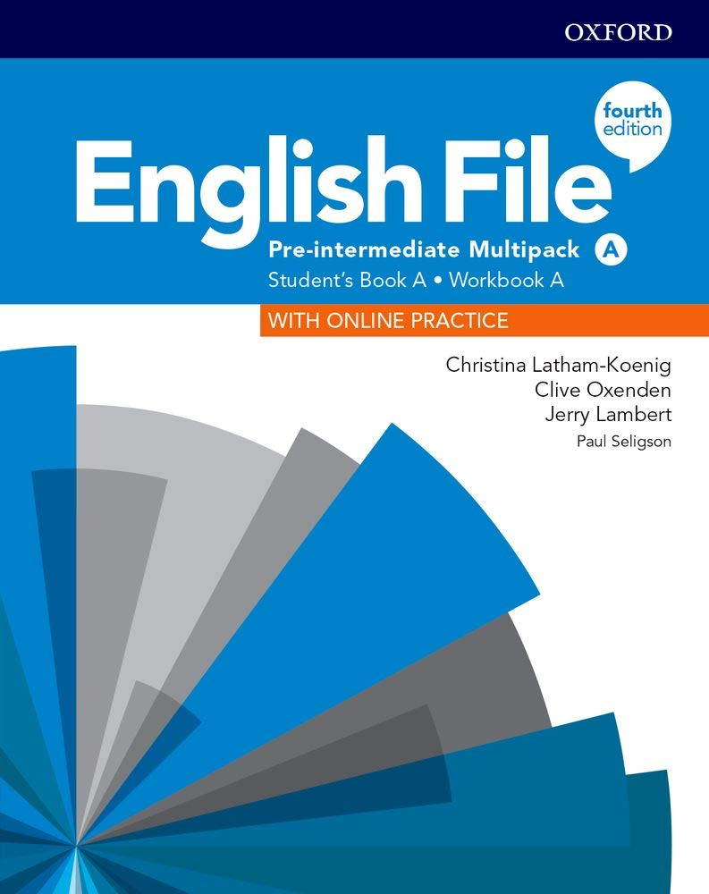 English File 4th Edition Pre Intermediate Multipack A English File Fourth Edition Spanish Edition Opracowanie Zbiorowe 9780194037303 Books