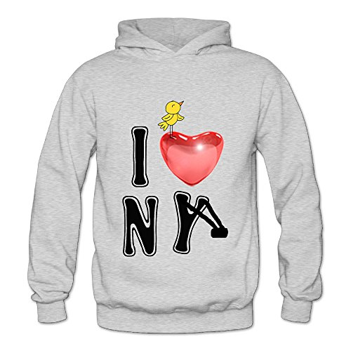 Lennakay Work Adult's Croc Bird Funny-crocodile Pullover Hoodie With No Pocket Ash For Woman SizeXXL