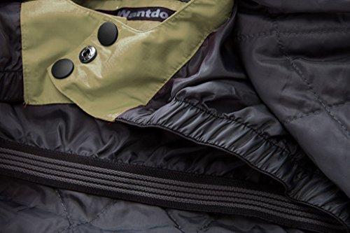 44102b21577 Wantdo Men s Waterproof Mountain Jacket Fleece Windproof Ski Jacket(US L)