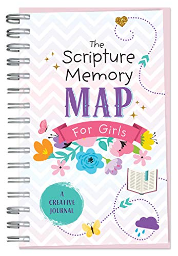 The Scripture Memory Map for Girls: A Creative Journal (Faith ()