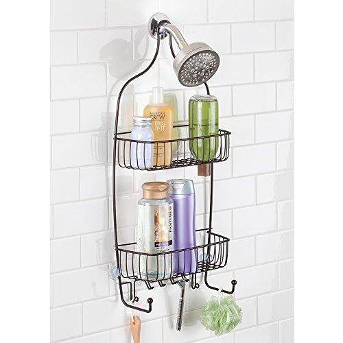 Interdesign l xl raphael accesorio organizador para ducha for Organizador para ducha