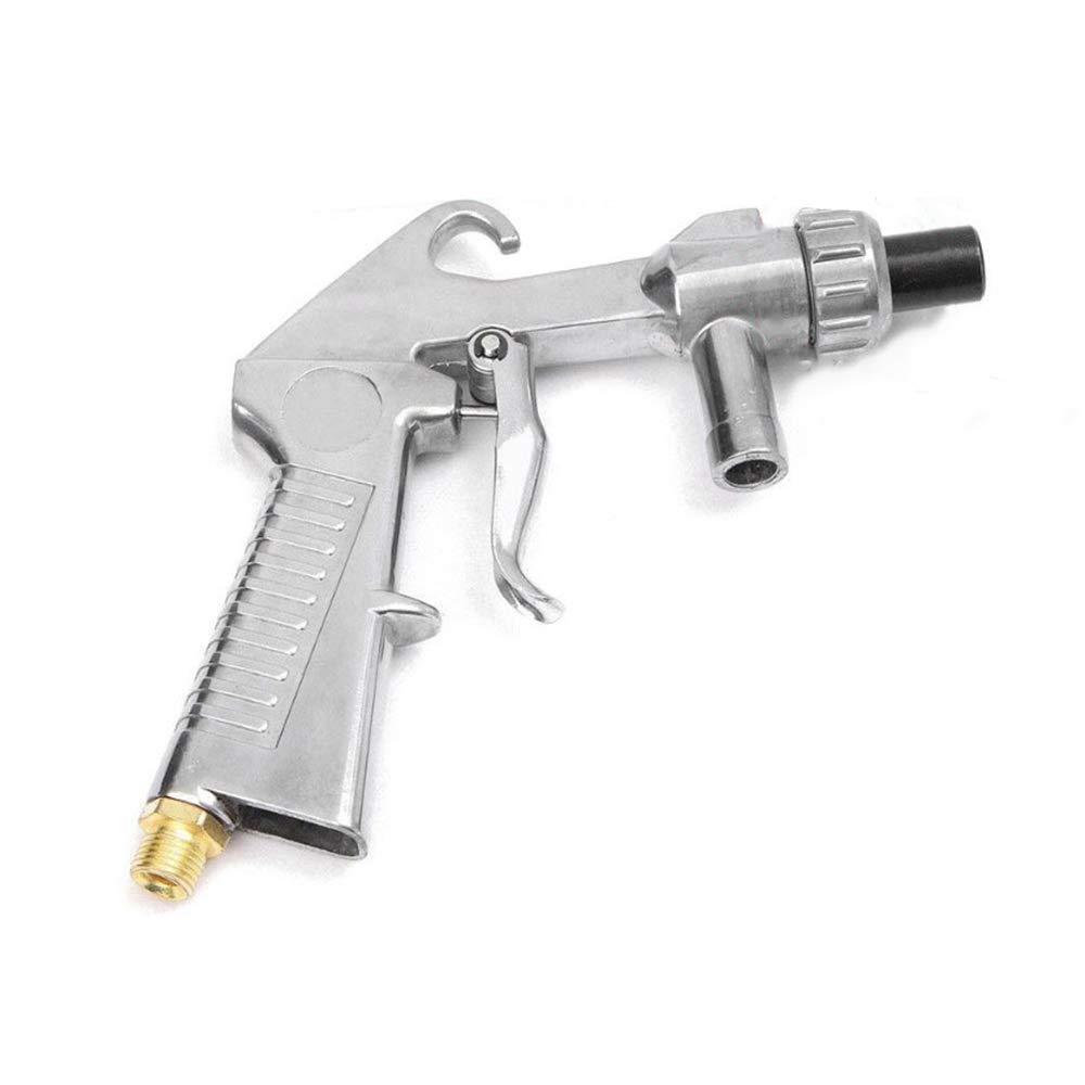 SUNJULY 7 Pcs Pistolets de Sablage Abrasifs /à Lair Abrasif pour Le Traitement de Polissage de la Surface en Verre Sable