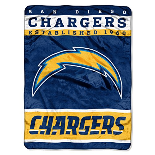 San Diego Chargers For Sale: Top Best 5 San Diego Chargers Throw Blanket For Sale 2017