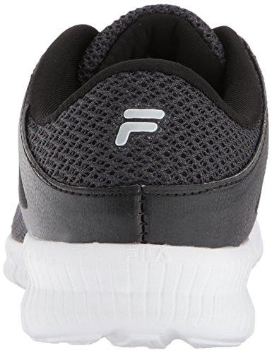 Running Silver Metallic Shoe Memory Women's White Fila Black Skip a0Fttq