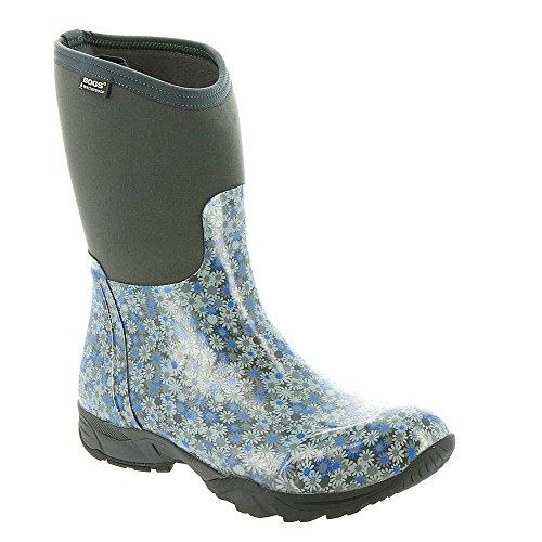Bogs Women's Daisy Multiflower Work Boot, Dark Gray Multi, 11 M US by Bogs