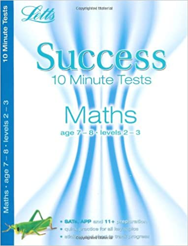 Maths Age 7-8: 10-Minute Tests (Letts Key Stage 2 Success): Amazon ...