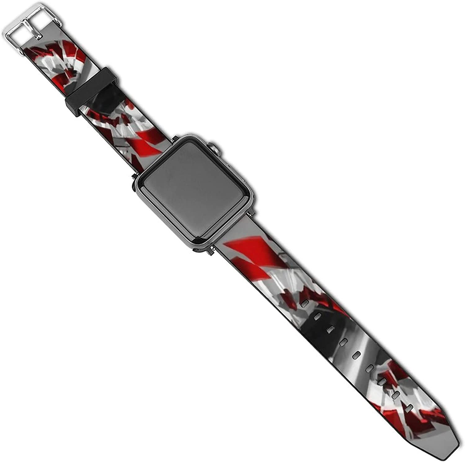 Avengers Endgame Apple Watch Band 44mm 42mm 40mm 38mm Leather Compatible iWatch Strap Compatible Apple Watch 5 4 3 2 1