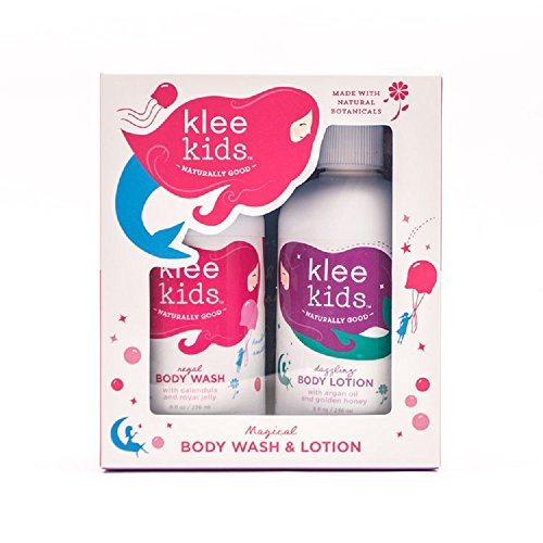 Luna Star Naturals Klee Kids Regal Body Wash and Dazzling Body Lotion Duo Set by Luna Star Naturals