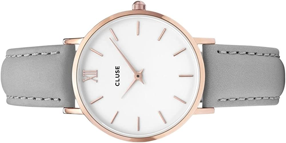 Cluse Watch - MINUIT Rose Gold Grey
