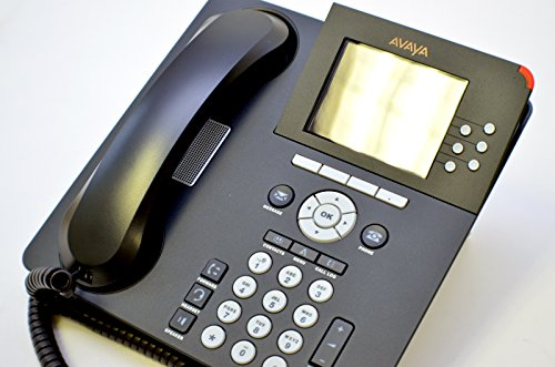 New Avaya VOIP POE IP Deskphone One-X SIP H.323 9640 Phone Telephone 700383920 9600 Series Digital Color LCD Screen Set Kit Assembly w/ Stand USB Ethernet RJ45 by Avaya (Image #2)