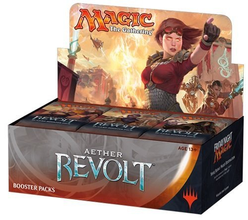 Magic The Gathering: Aether Revolt Sealed Booster Box (Best Cards In Aether Revolt)