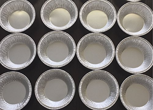 50 Silver Aluminum Foil Tart Pan 3