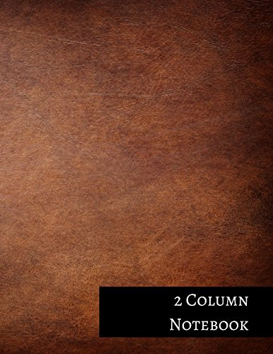 2 Column Notebook: Columnar Format