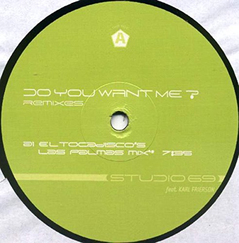 Do you want me?-Remixes / Vinyl Maxi Single : Studio 69: Amazon.es ...