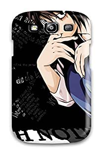 Tpu Shockproof/dirt-proof Death Note Cover Case For Galaxy(s3)