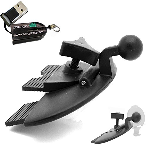 ChargerCity EasyBlade 17mm Ball Connection Car CD Slot Mount for Garmin Nuvi GPS Brackets Cradles 3x 4x 5x