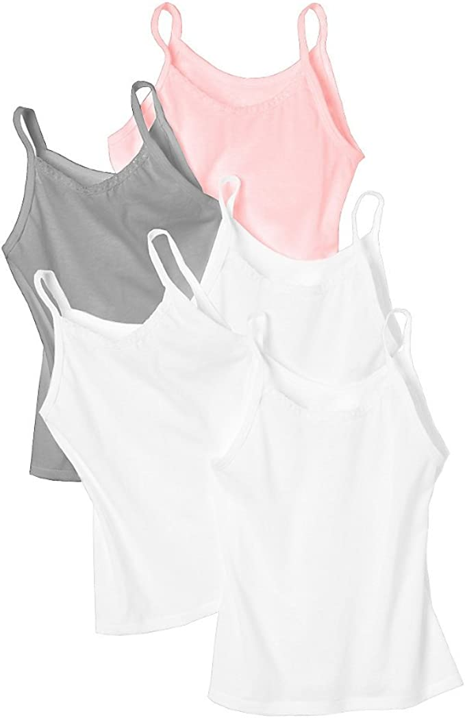 Hanes Girls Cami 5-Pack