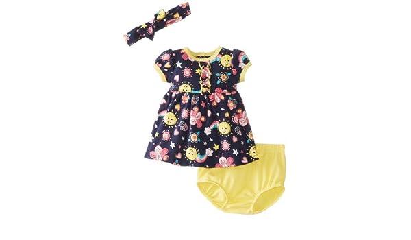 Vitaminas Baby Baby-Girls recién nacido Sol y el paquete de mariposa vestido Set, Azul, 3 Meses Color: Azul marino Tamaño: 3 Meses: Amazon.es: Bebé