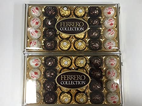 Costco Ferrero Collection 24 pieces X2 boxes 600g: Amazon co