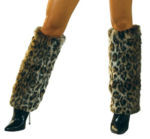 Leopard Leg Warmers - J. Valentine Women's Leopard Basic Leg Warmer, Leopard, One Size