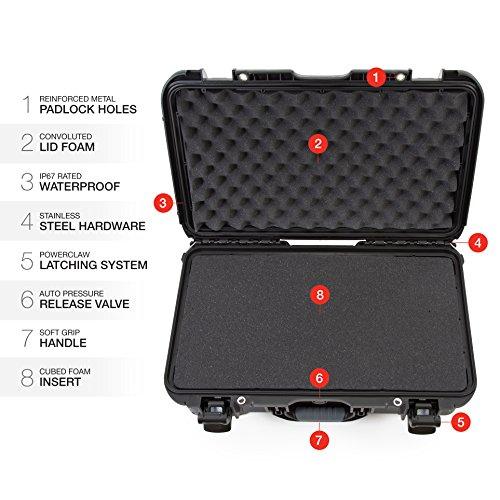 Nanuk 935 Waterproof Carry-On Hard Case with Wheels and Foam Insert - Black by Nanuk (Image #8)