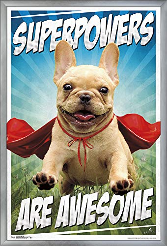 - Trends International Avanti-Happy Dog Wall Poster, 24.25