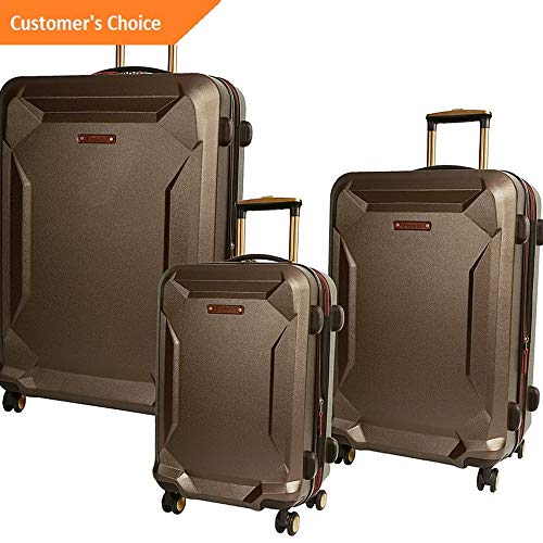 Amazon.com | Sandover Timberland Fort Stark 3 Piece Expandable Hardside gage Set NEW | Model LGGG - 4358 | | Luggage Sets