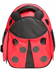 Red Balloon Toddler Kids Insulated Children Preschool Daycare Backpack - Side Mesh Pockets - Adjustable Straps...