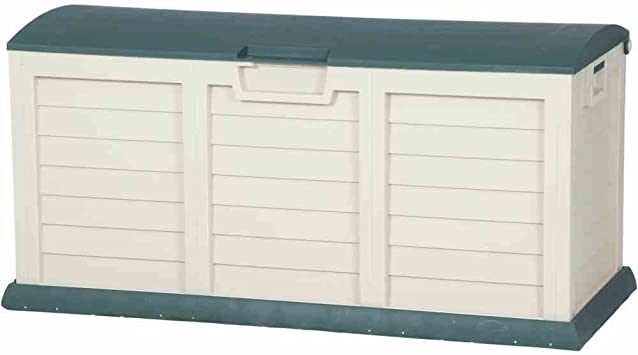Baúl arcón Maxi de resina exterior L140 X P61 X h69 cm Jardín Niños 000811: Amazon.es: Bricolaje y herramientas