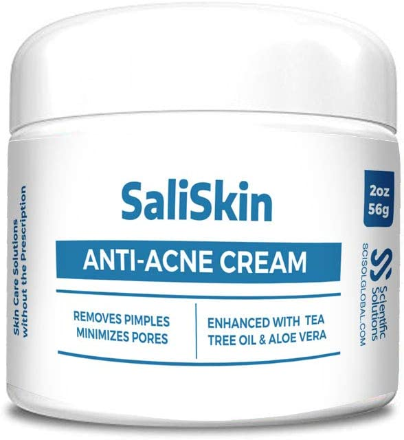 Amazon Com Saliskin Acne Treatment Cream Topical Anti Acne