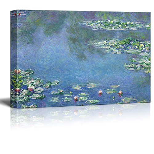 Famous Painting of Water Liliesby Claude Monet Gallery