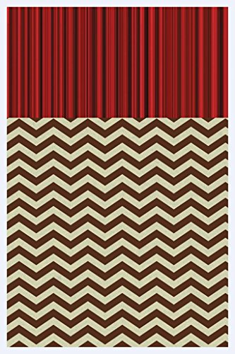 The Black Lodge Art Print Poster 24x36 inch