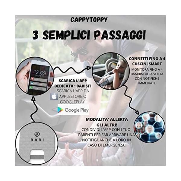 VINCITORE 2020* Dispositivo Anti Abbandono Seggiolino Auto Universale 2.0 Aggiornato con Monitoraggio Costante Fino a 4… 6