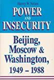 Power and Insecurity, Harvey Nelsen, 1555871623