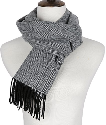 assic Cashmere Feel Winter Scarf 1 Gray One Size ()