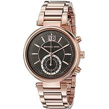 Michael Kors Women's Sawyer MK6226 Rose Gold Stainless-Steel Quartz Watch