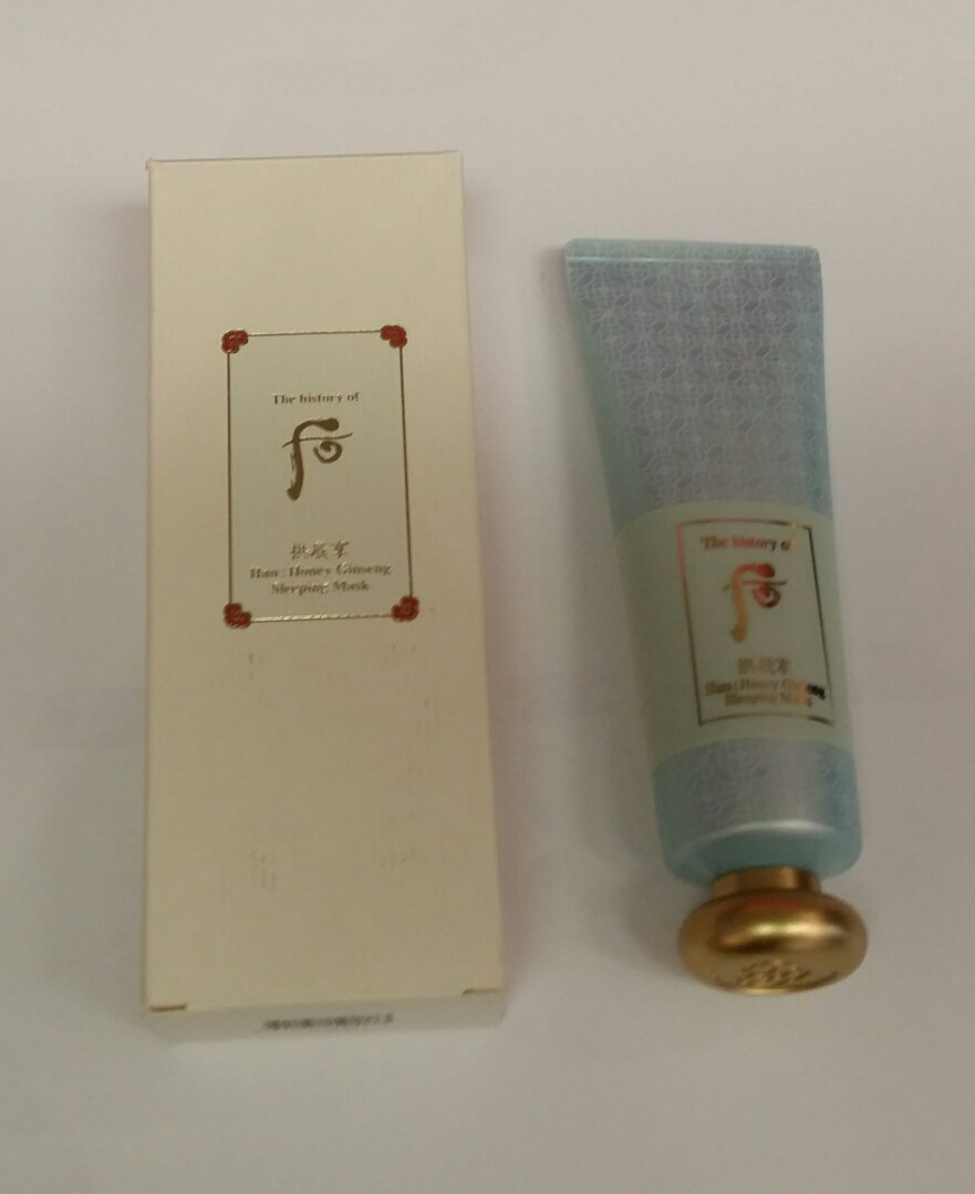 The History Of Whoo Han: Honey Ginseng Sleeping Mask LG